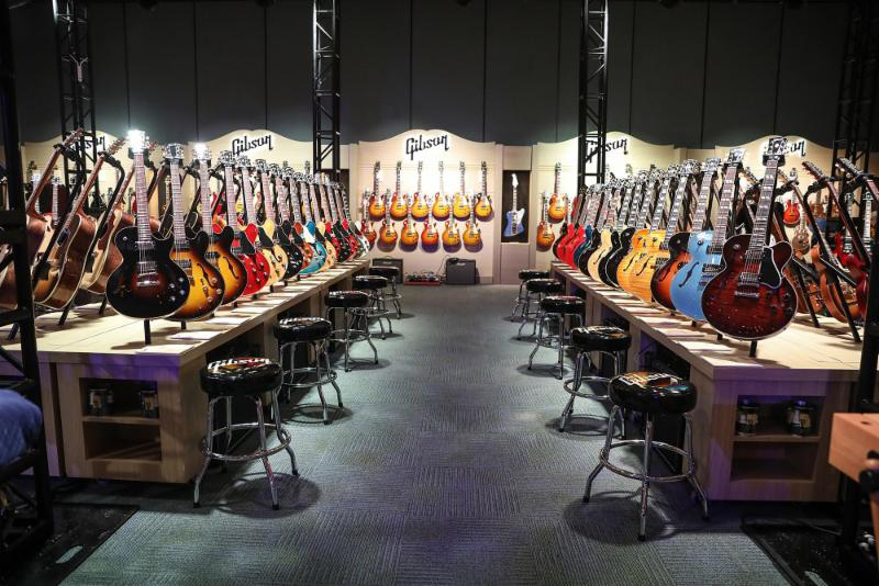 Gibson Experience at NAMM 2019