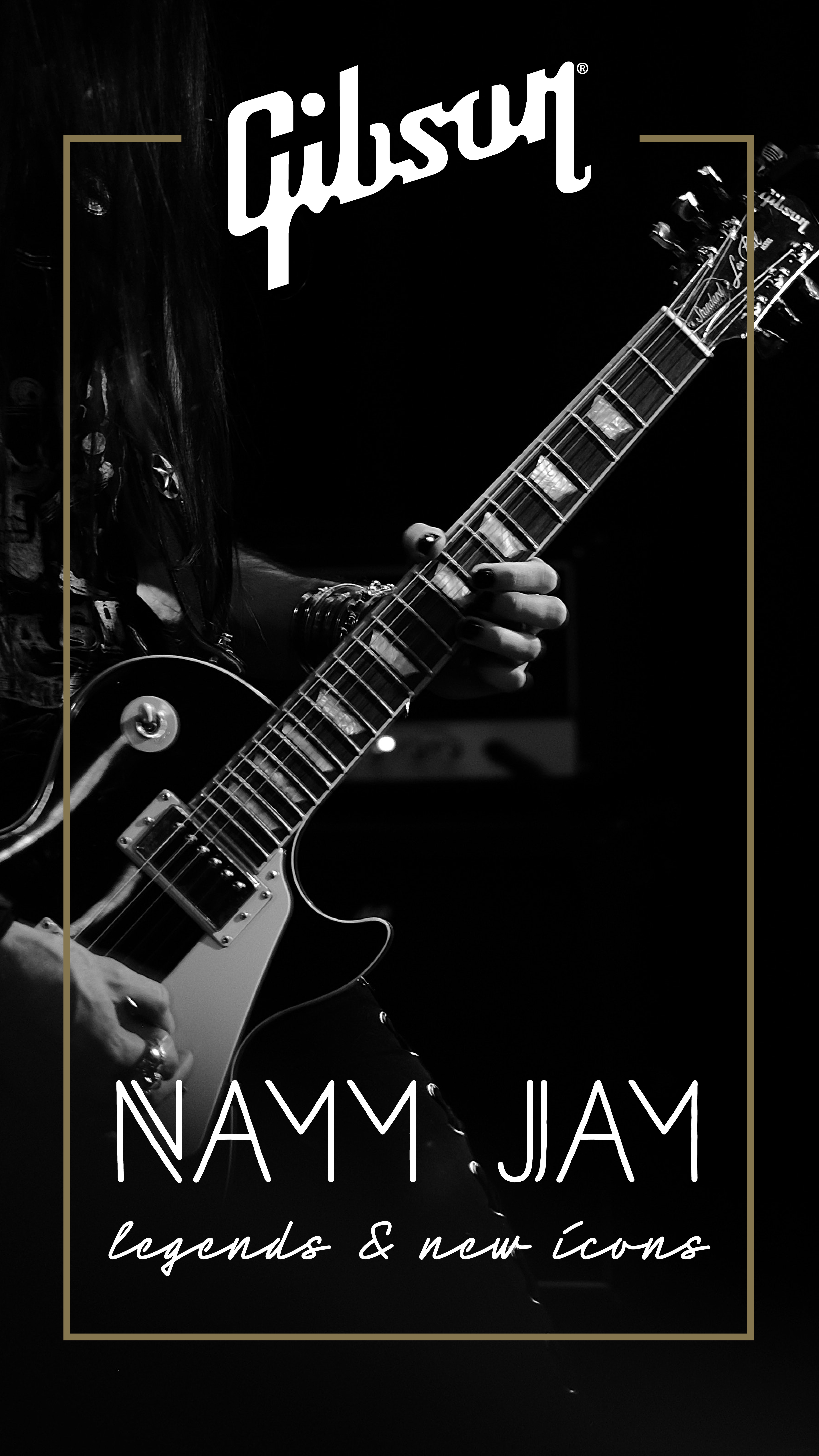 Gibson at NAMM Jamm
