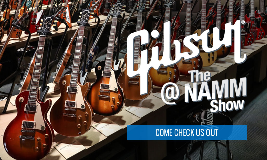 Gibson at Winter Namm 2019