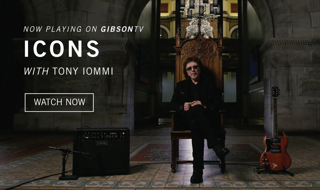 Now Playing: ICONS: Tony Iommi