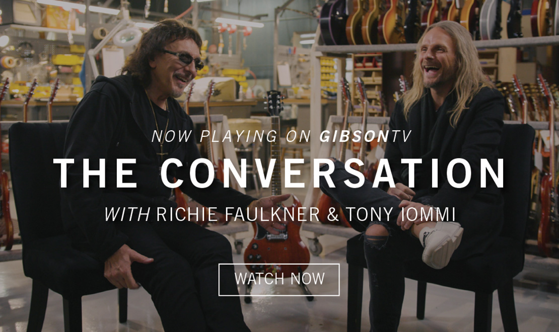 Now Playing: The Conversation - Episode 1: Tony Iommi talks with Richie Faulkner