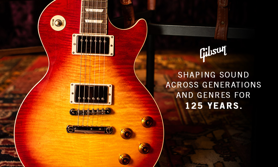 Gibson - 125 Years influencing Generations, Genres and Genders