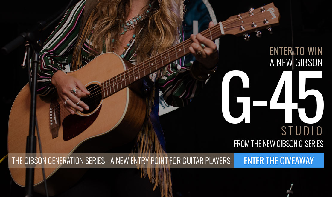 Enter to Win A New Gibson Generation Series G-45!