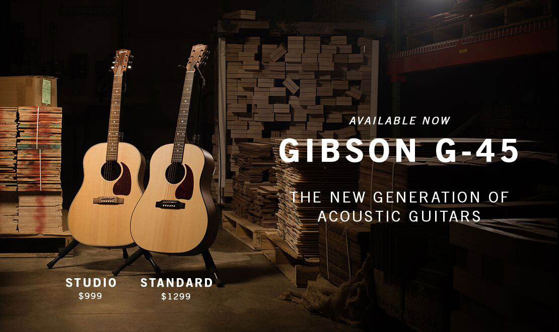 Discover The New Gibson Generation Series G-45!