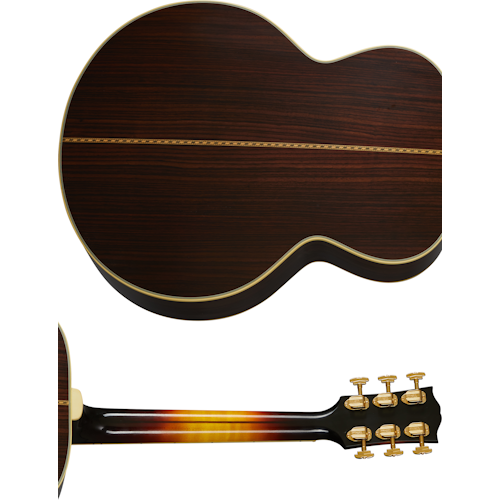 Pre-War SJ-200 Rosewood Back and Neck