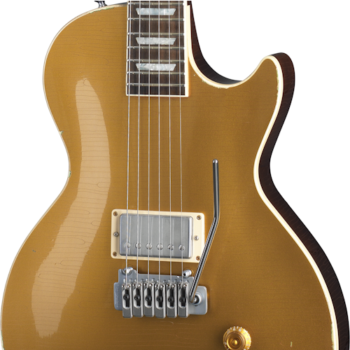 hardware 500 500 - Gibson Joe Perry Gold Rush Custom Shop Aged Goldtop Les Paul