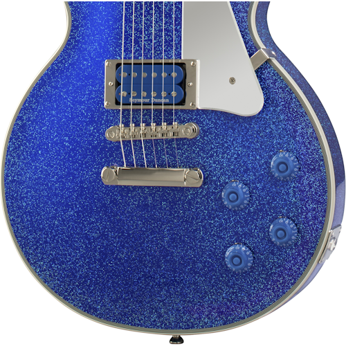 """Tommy Thayer """"Electric Blue"""" Les Paul Hardware"""