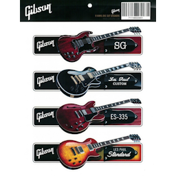 Guitar Sticker Pack