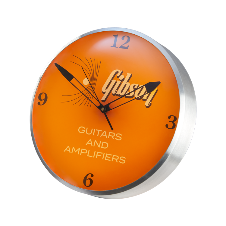 Gibson Vintage Lighted Wall Clock
