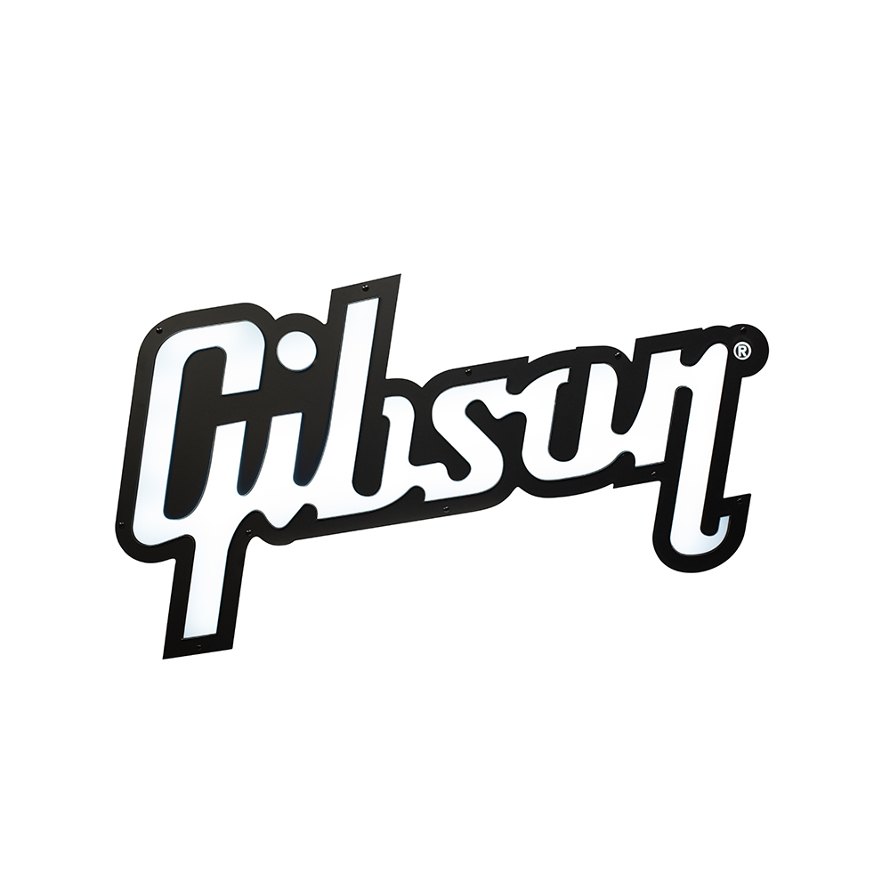 Gibson Logo LED Sign
