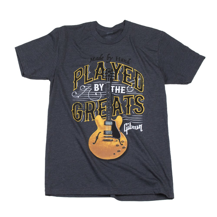 Played By the Greats T (Charcoal)