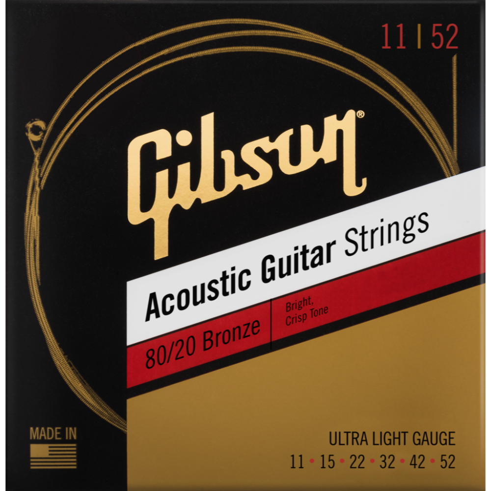 80/20 Bronze Acoustic Guitar Strings