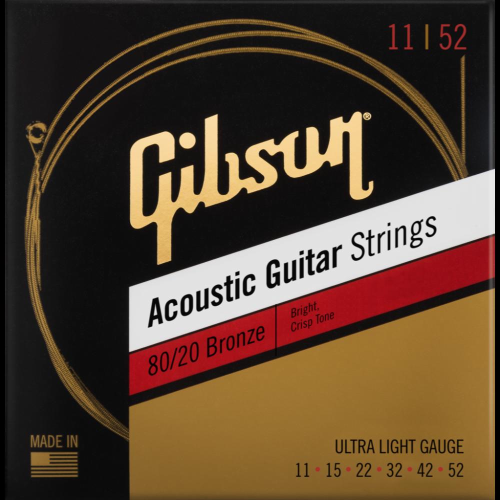 80/20 Bronze Acoustic Guitar Strings