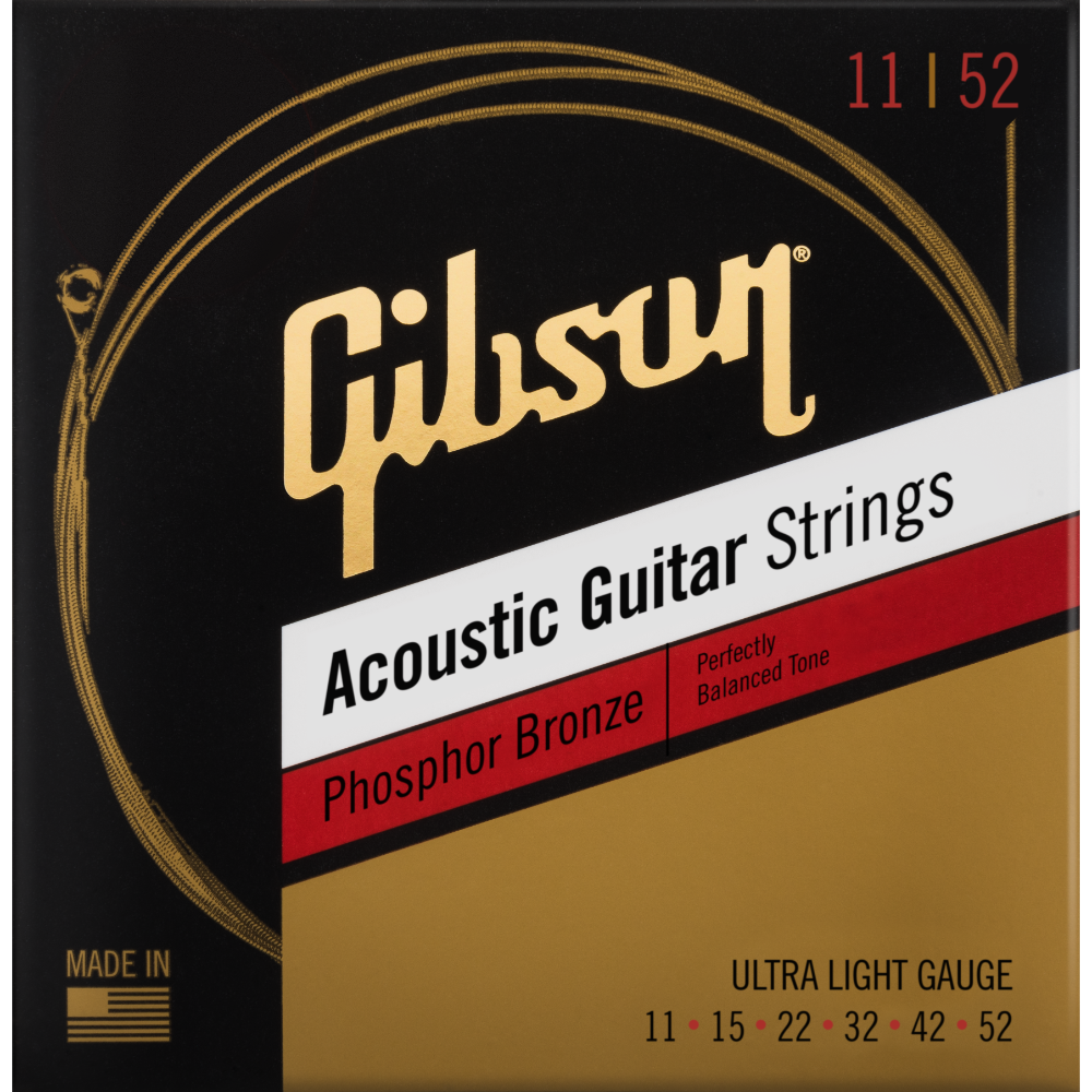 Phosphor Bronze Acoustic Guitar Strings