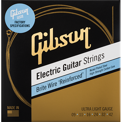 Brite Wire 'Reinforced' Electric Guitar Strings