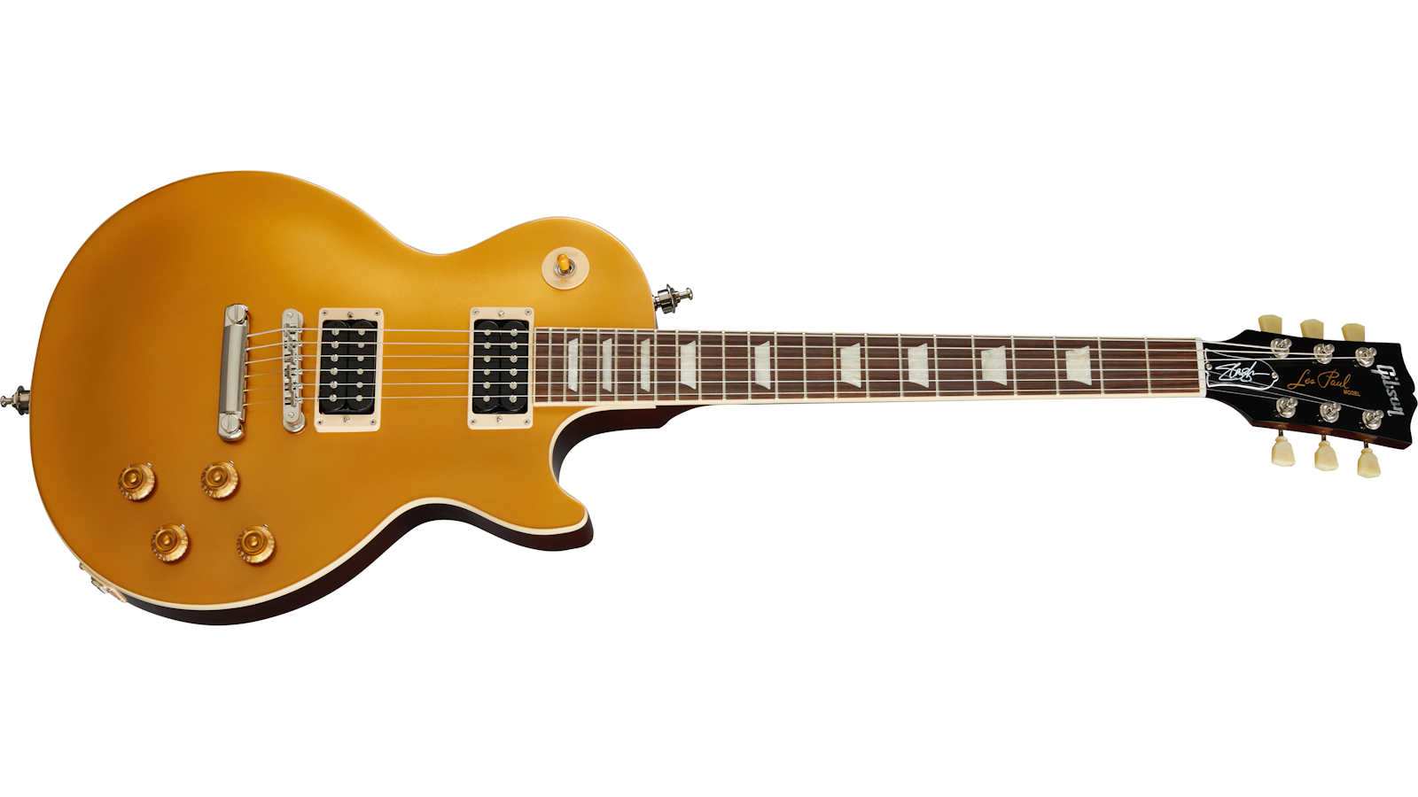 "Slash ""Victoria"" Les Paul Standard Goldtop"